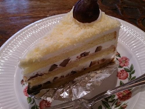 Tea Room LAVINIA(ラビニア)-マロンのショートケーキ