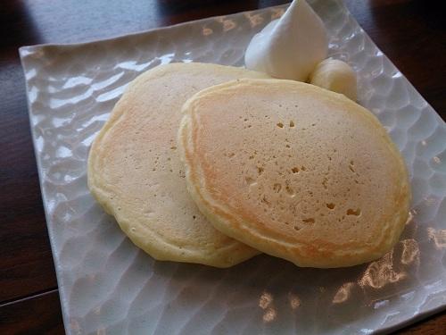 「サロン・ド・テ・ラボンド」オーガニックパンケーキ