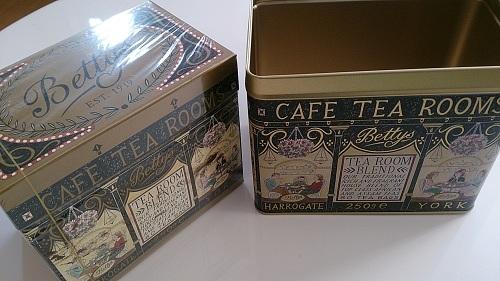 ベティーズ紅茶箱